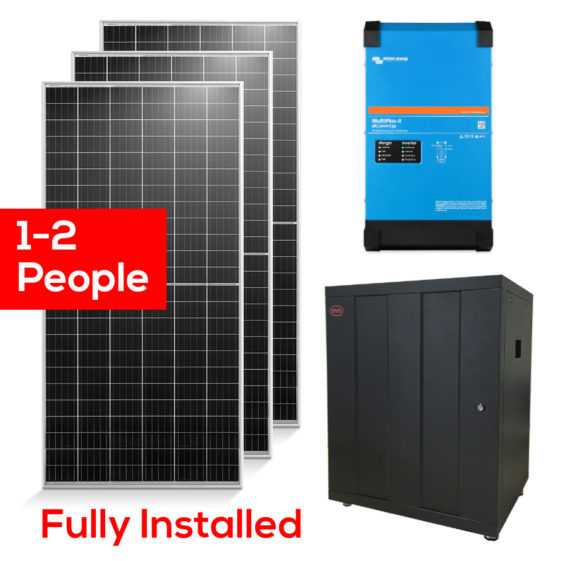Budget Off Grid Solar Package