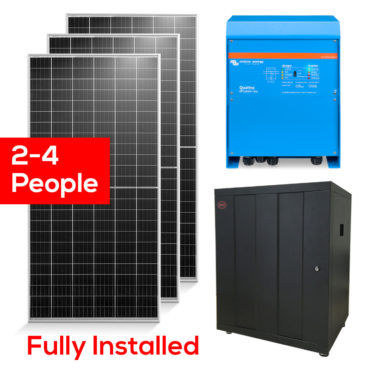 Medium Family Home Off Grid Solar Package
